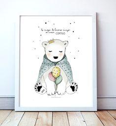 poster con frases de amor para niños y bebe