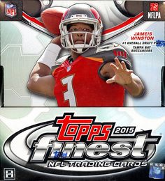 Topps Finest Football - 2015 NFL Trading Cards - Hobby Box