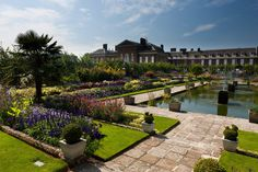 The Sunken Garden at Kensington Palace