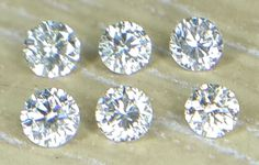 1.4 MM CERTIFIED Round White-F//G Color SI Loose Natural Diamond Wholesale Lot