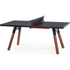 This Ping Pong Table Doubles As A Conference Or Dining Table   Ping Pong  Table, Dining Tables And Office Table