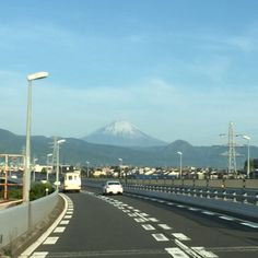 Mt Fuji from Tomei Highway