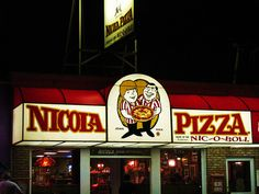 Nicola Pizza, Rehoboth Beach.  (Photo taken by Elaine Kucharski, via her Pinterest board).