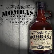 Mombasa Club London Dry Gin 70 cl / 41.5 % UK