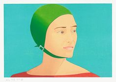 The Green Cap, 1985 Woodblock in thirteen colors Sheet: 17 3/4 x 24 1/4 inches Image: 12 1/4 x 17 7/8 inches Edition: 200 Artist Proofs: 20 Tosa Kozo paper Printed by Tadashi Toda and Hidekatsu Takada, Shi-un-do Print Shop, Kyoto Cut by Reizo Monjyu Published by Crown Point Press