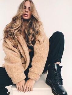 Pixie Jacket - Caramel Fleece