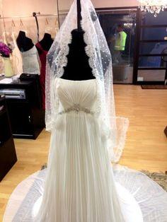lace veil by Skarr Bridal Lace Veils, Lace Wedding, Wedding Dresses, Bridal Accessories, One Shoulder Wedding Dress, Future, Fashion, Moda, Bridal Dresses