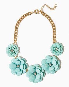 charming charlie | Flora Fête Statement Necklace | UPC: 450900350581 #charmingcharlie