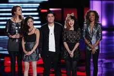#TeamAdam awaits the elimination results. #TheVoice