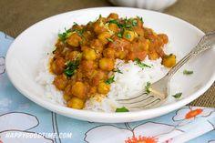 Vegitarian Chickpea Curry