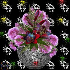 Flowers Gif, Beautiful Rose Flowers, Beautiful Gif, Beautiful Butterflies, Love Flowers, Colorful Flowers, Angel Wallpaper, Butterfly Wallpaper, Love Wallpaper
