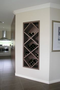 ALYSIA! I saw this and thought of you :) Built in wine rack