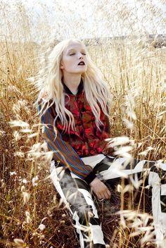 Elle Polônia Setembro 2014 | Maja Salamon por Agata Pospieszynska [Capa+Editorial]