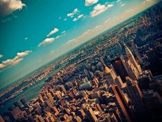 When I'm in New York, I just want to walk down the street and feel this thing, like I'm in a movie. -Ryan Adams