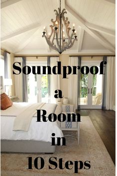 Looking to soundproof your room? Here are the 10 easy essential steps to sound dampen it Decorating Blogs, Interior Decorating, Interior Windows, Acoustic Panels, Basement Renovations, Sound Proofing, Upholstered Furniture, Diy Home Improvement, Home Repair