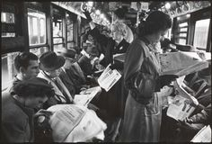A collection of postwar New York City subway commuter photos taken by 17 year old Stanley Kubrick