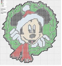 Mickey Mouse Plastic Canvas Patterns | via amy hillier