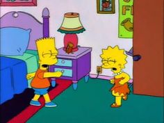 The Simpsons kids cartoons