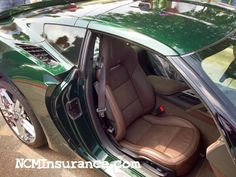 First Lime Rock Green Corvette C7