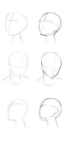 reference for drawing / reference for drawing ; reference for drawing people ; reference for drawing poses ; reference for drawing face Anime Drawings Sketches, Pencil Art Drawings, Easy Drawings, Drawings Of Faces, Kawaii Drawings, Drawing People Faces, Anime Sketch, Sketches Of Faces, Drawing Reference Poses