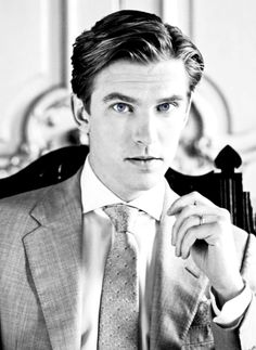 Dan Stevens - Matthew Crawley in Downton Abbey. I may have to watch this show after all....