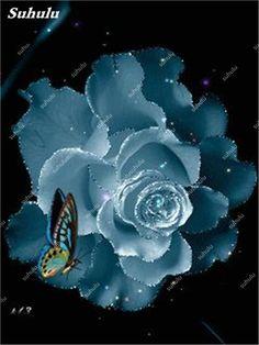 New Seeds 2018! Blue Rose Fragrant Gardens Flowering Plants Strong, Blue Dragon rose, Blue Rose Seeds 150 Pcs Free Shipping