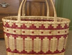 Quilter's  [or Knitter's or Crocheter's] Tote Basket,