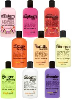 Treaclemoon shower gels ... Im soo adicted to this stuff ... And this is just a small part of it ^^