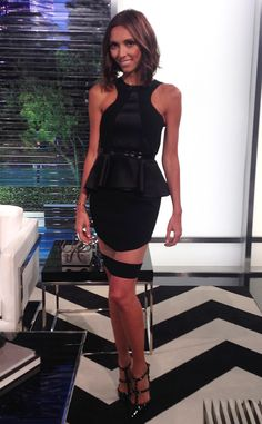 Giuliana Rancic rocks a peplum frock from E! News Look of the Day | E! Online