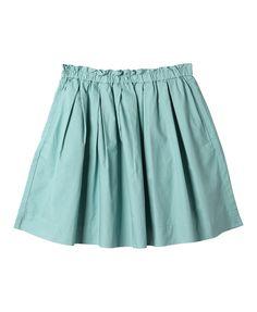 Womens' Cotton Gathered Skirt- UNIQLO