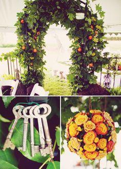 secret-garden-flowers... party idea