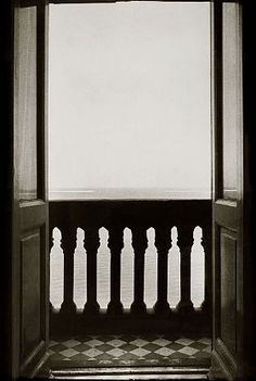 Ralph Gibson Balcony Overlooking the Sea, 1992