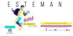 Esteman presenta: Baila en concierto. Luego de su gira sold out por Colombia y México con el lanzamiento de su disco 'Caótica Belleza', Esteman regresa a...
