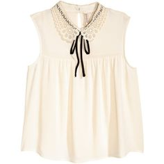Lace-collared Blouse $24.99