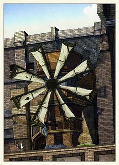 Ico and Yorda at the Windmill