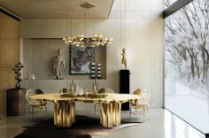 9 Dazzling Dining Room Lights That Are Showstoppers | dining room ideas, dining room design, dining room décor | #diningroomlights #diningroomlightingideas #diningroomlighting    See more: http://diningroomideas.eu/dazzling-dining-room-lights-showstoppers/