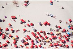Ipanema Beach Umbrellas, Brazil | Gray Malin
