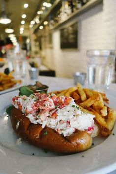 Ed's Lobster Bar NYC I High Line Gallery Hopping - The Londoner