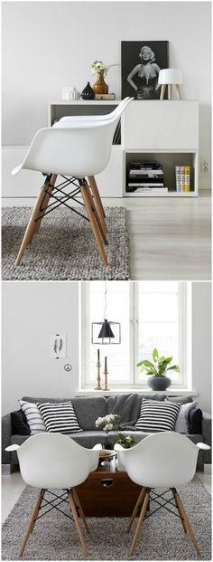 Silla Eames. Visto en www.momocca.com