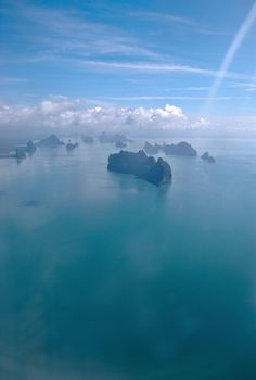 Phucket, Thailand - Inspired by Andrew Sullivan's airplane picture window series.