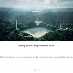 Not my photo!  Opened up the Skiplagged app and this is what greater me. This is the radio telescope run by SETI in Arecibo. I would love to have taken this shot. Kudos to the photographer!  #Hashtagpuertorico #puertorico #pr #puertoricoselevanta #prsellevanta #boriqua #imaginepuertorico  #imaginepr #latitudepr #prturismo #placespr #skiplagged #notmyphoto  Again this is not my photo, but a screenshot of Skiplagged.