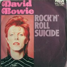 From The Rise and Fall of Ziggy Stardust and the Spiders from Mars, 1972.
