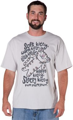 Soft Kitty Shirt@Sara Sylvis I am so going to purchase this for you!