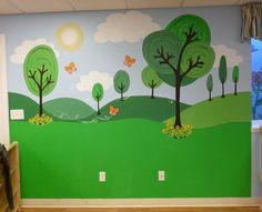 More Day Care Murals ~Cartoon Park Mural | Ellen Leigh