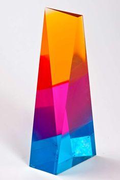 Norman Mercer Lucite Sculpture image 4