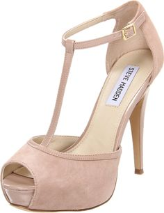 Amazon.com: Steve Madden Women's Maagie Open-Toe Pump: Steve Madden: Shoes