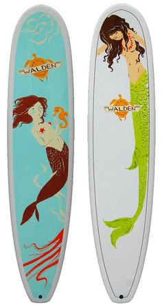 Wishing I surfed.How good do Heathers mermaids look!