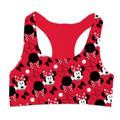 85cb57f513e03 Disney Junior s Minnie Mouse Racer Back Sport Bra Large Disney