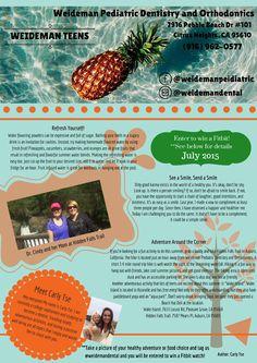 Weideman Teens Newsletter, July 2015
