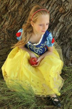 Disney Princess photo shoot, 5 years old. Snow White